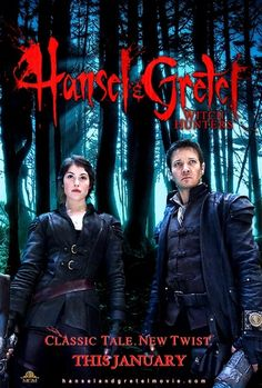 Hansel & Gretel: Witch Hunters (Unrated) (from BLURAY)-- UV CODE ONLY
