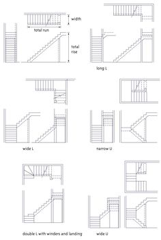Stairs Types Of Stair Designs Ruang Rumah Ramah Escalier Art, Escalier Design, Architecture Details, Interior Architecture, Stairs Architecture, Types Of Stairs, Stair Plan, Steel Stairs, Stair Detail
