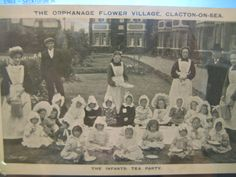 A tea party! Flower Village orphanage.