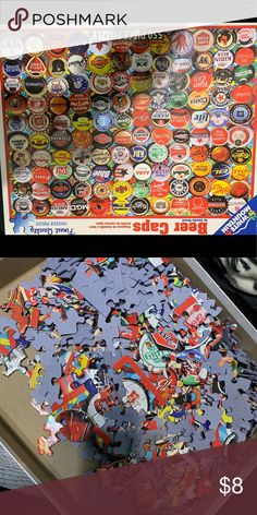 Puzzle Jigsaw puzzle of beer caps. Big pieces, easy to work on Other Puzzle Jigsaw puzzle of beer caps. Big pieces, easy to work on Other Rolex Daytona Stainless Steel, Rolex Daytona Watch, Beer Caps, Vintage Rolex, Rubber Bands, Jigsaw Puzzles, Big, Easy, Things To Sell