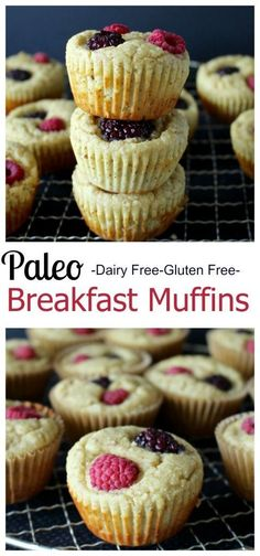 These Paleo Breakfast Muffins are the perfect grab-n-go breakfast. Delicious easy healthy and filling.