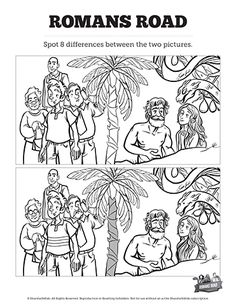 149 Best Top Spot the Difference Bible Activities for Kids