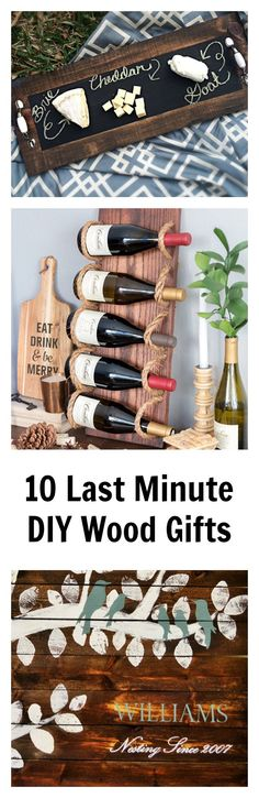 awesome ideas for last minute diy wood gifts most you can make from scrap wood with simple tools