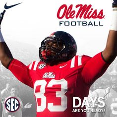 The countdown to Ole Miss football season: 83 days to go!