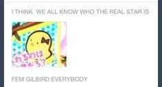 Gilbird have a name? I have been wondering this!<---- I like that idea <<< my sis said girlbird Hetalia Anime, Hetalia Funny, Spamano, Hetalia Characters, Hetalia Axis Powers, Kaichou Wa Maid Sama, Homestuck, Me Me Me Anime, So Little Time