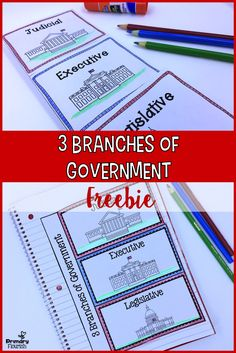 This is a quick fun way for primary students to learn or review the three branches of government.