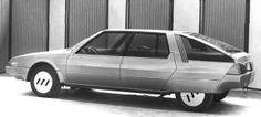 Citroën Projet E prototype, créé par l'équipe de Jean Giret en 1980 et destiné à remplacer la CX.