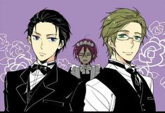 Free! ~~ Black Butler cosplay THIS IS ABSOLUTELY WONDERFUL- RIN. RIN. OH MY GOD, RIN. THAT. IS. BEAUTIFUL. Crossovers XD