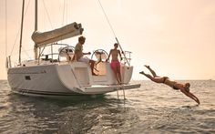 Summer Fun on board the Hanse 455 http://www.jk3hanse.com/#!455/c6j9