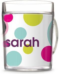 Polka Dot You Cup | Coffee Cups | Home Decor | www.Shutterfly.com