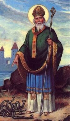 Bringing Christianity to Ireland. Saint Patrick may also have had a hand in Christianizing the Picts and the Anglo-Saxons. He is Ireland's Patron Saint.  It is believed that he died on March 17th.