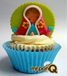 cupcakes virgencita - Buscar con Google