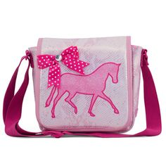 Zebra Trends Kindertasje New Diva veulen roze