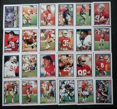 1991 Bowman San Francisco 49ers Niners Team Set of 24 Football Cards #SanFrancisco49ers