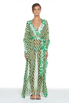 Nannushka Dress.... beautiful coverup by DVF