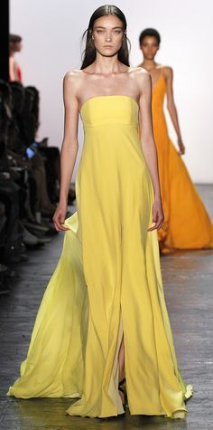 The Stunning Dresses from #NYFW That We're Hoping to See on the Emmys Red Carpet - Prabal Gurung  - from InStyle.com