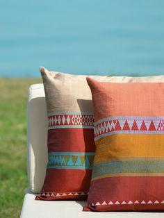 Zeri Crafts:  Cushions--Modern interpretation of Bedouin weaving.