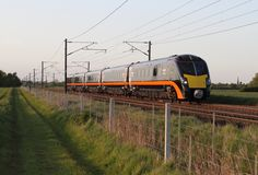 BR Class 180 'Adelante' in Grand Central livery — built by Alstom Halloween Train, Halloween Themes, British Rail, Speed Training, Great Western, Diesel Locomotive, Trains, High Speed, Building