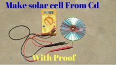 how to make solar cell from cd flat real free energy with proof - YouTube Renewable Energy Projects, Solar, Youtube, Free, Youtubers, Youtube Movies