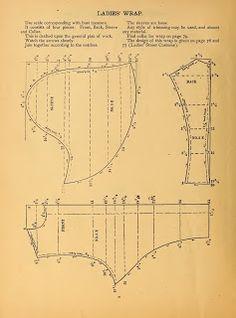 Ladies' Wrap 1888 pattern