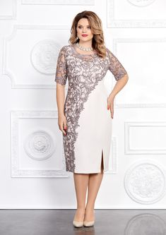 Elegant and stylish: dresses for overweight ladies of any age for the holidays Modest Dresses, Elegant Dresses, Plus Size Dresses, Beautiful Dresses, Formal Dresses, Stylish Dresses, Dance Dresses, Short Dresses, Curvy Fashion