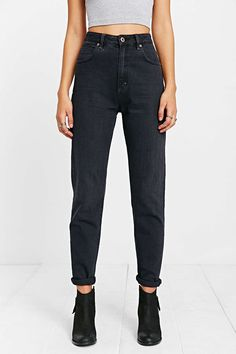 Neuw Lola Jean - Black Stone - Urban Outfitters
