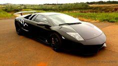 Lamborghini Murcielago 2010 - Matte Black Wrap