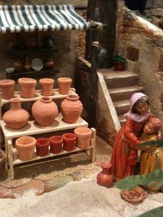 1 million+ Stunning Free Images to Use Anywhere Fontanini Nativity, Diy Nativity, Christmas Nativity Scene, Christmas Villages, Christmas Crib Ideas, Christmas Crafts, Christmas Decorations, Janmashtami Decoration, Styrofoam Crafts