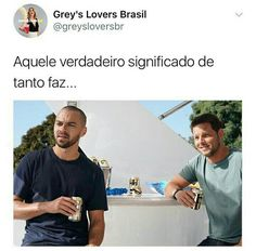 Tanto faz só amo vcs Little Memes, Greys Anatomy Memes, Save Life, Series Movies, Pretty Little Liars, Movies Showing, Beautiful Day, Humor, Laughter