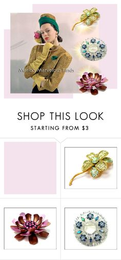 """Find your Sparkle at Marlo's Marvelous Finds!"" by seasidecollectibles ❤ liked on Polyvore"