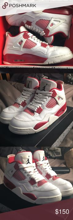 e9fc9a4b7180 Jordan 4 Retro Alternate Og box Original box
