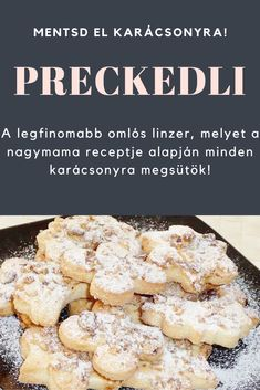Hungarian Recipes, Cookie Jars, Love Is Sweet, Cake Recipes, French Toast, Food And Drink, Sweets, Cookies, Baking