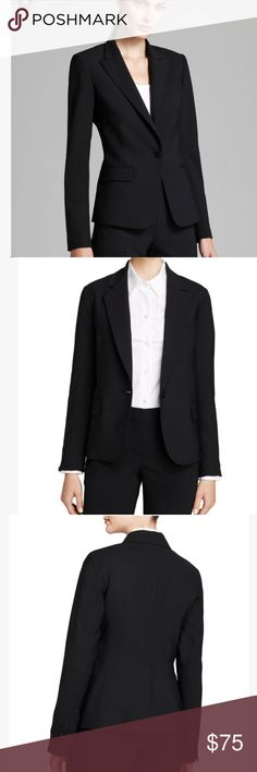 Baby pink silk satin corded lace and eyelash trims slips on 100 theory gabe b black blazer position yourself for success in theorys classic yet sharp single solutioingenieria Image collections