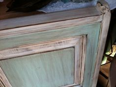 painted furniture techniques | Furniture painting technique creates European Farmhouse look ...