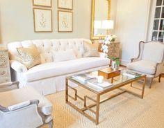 pretty living room  Framed prints