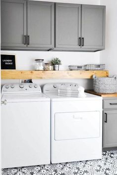 66 Best Modern Farmhouse Laundry Room Decor Ideas
