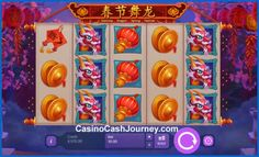 Dancing Dragon Spring Festival is a Playson powered online slot, which is themed around Chinese New Year.  http://www.casinocashjourney.com/slots/playson/dancing-dragon-spring-festival.htm