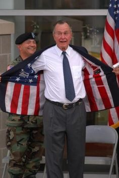Remember when our Presidents were patriotic?