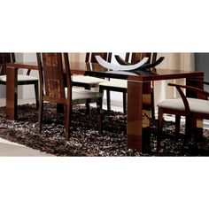 Pisa Extendable Dining Table - Walnut Canaletto