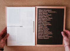 Typography Manual, edited and designed by the 2nd year students of the graphic design department, Gerrit Rietveld Academy Amsterdam 2007. Cover design by Alban Schelbert, design of the section Emphasis & Structure in collaboration with Christopher West.