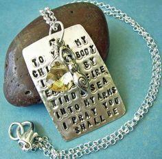 Fertility Goddess Necklace ~