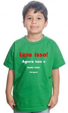 Camiseta Leia isso por apenas R$42.66