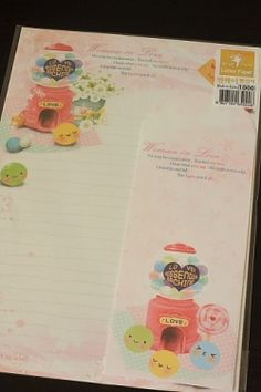 Kawaii Letter Set - Love Messenger Machine