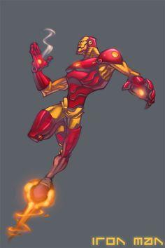 Iron man by ZurdoM.deviantart.com