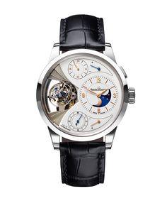 The most important timepiece takeaways from the annual Salon International de la Haute Horlogerie in Switzerland: Duomètre Sphérotourbillon Moon, JAEGER-LECOULTRE.