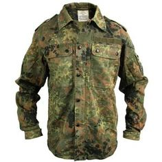 German Flecktarn Shirt More high quality gear from...