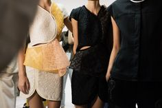 CR gets backstage access at 3.1 Phillip Lim Spring 2015 womenswear collection runway show