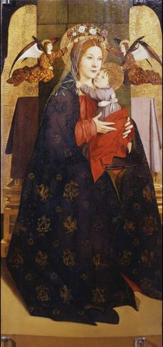 Madonna col Bambino e angeli reggicorona