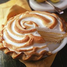 The fresh lemon in this Lemon Ribbon Ice Cream Pie gives it a refreshing flavor.