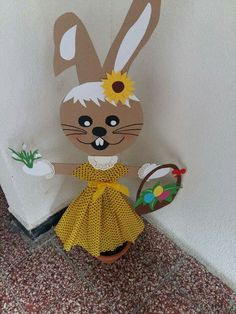 Flower Crafts Kids, Easter Arts And Crafts, Bunny Crafts, Valentine Crafts, Fall Crafts, Diy Crafts For Gifts, Fun Crafts For Kids, Sunflower Crafts, Easter Colouring